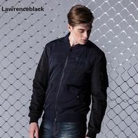 Lawrenceblack Mens Bomber Jacket Men Pilot Jackets Male Autumn Men Cotton Men Casual Jacket Slim Sportswear