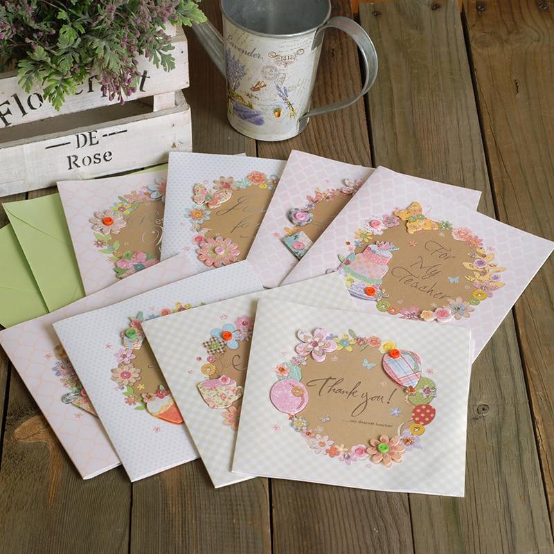 best teacher's day gift greeting cards for teacher
