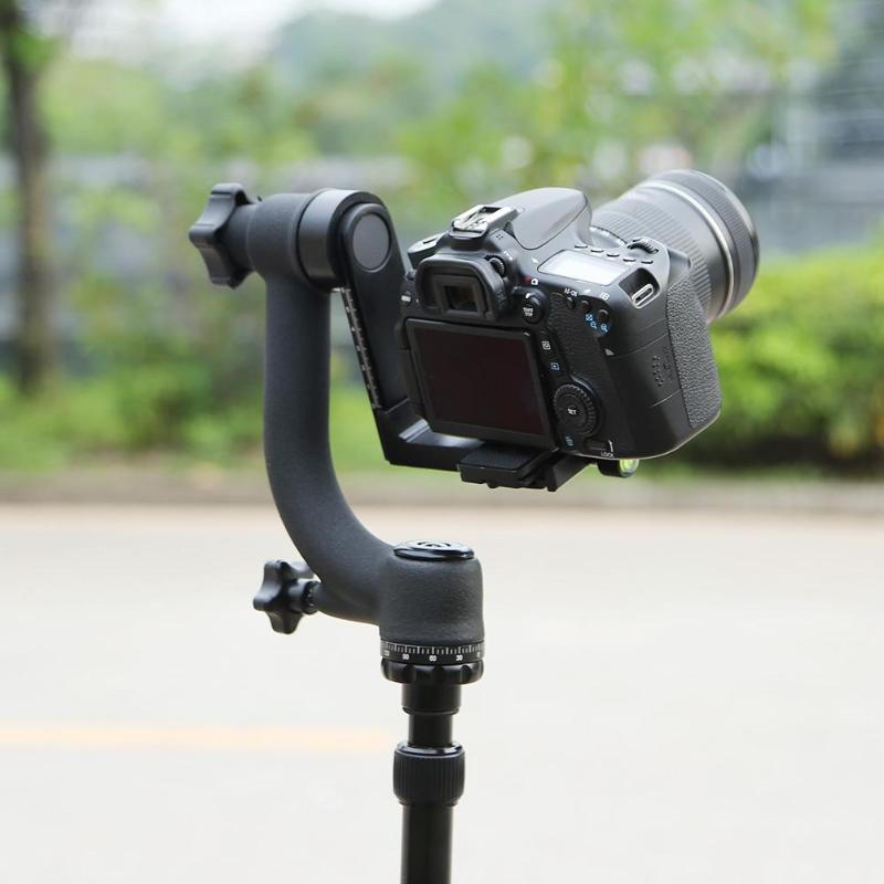 Professional 360 Degree Panoramic Gimbal Tripod Ball Head 1/4 Inch Screw w/Quick Release Plate for DSLR Camera Telephoto Lens стоимость