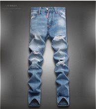 Free shipping 2015 New Jeans Men Famous Brand Fashion Jeans Designer Jeans Mens  Brand Pants 28-36