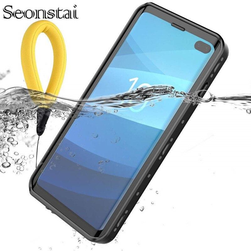 Caso À Prova de Água para Samsung S10 IP68 Mais Casos para Samsung S10 S10lite Natação Subaquática de Mergulho À Prova D' Água Completa Proteja Capa