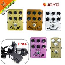 JOYO guitarra AMP Simulator efectos Pedal de distorsión Pedal VOX Fander Marshall MESA Boogie amplificador True Bypass envío gratis