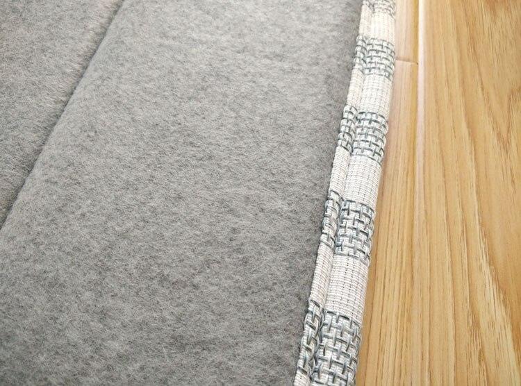 Japanese Floor Mattress Large 2 Size 180/240cm Kotatsu Futon Mat Portable Tatami Pad Fashion Flower Bedroom Grey Rug Designer