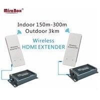 MiraBox беспроводной HDMI Extender поддержка 1080 P 2000 м с аудио эксрактор беспроводной передатчик и приемник