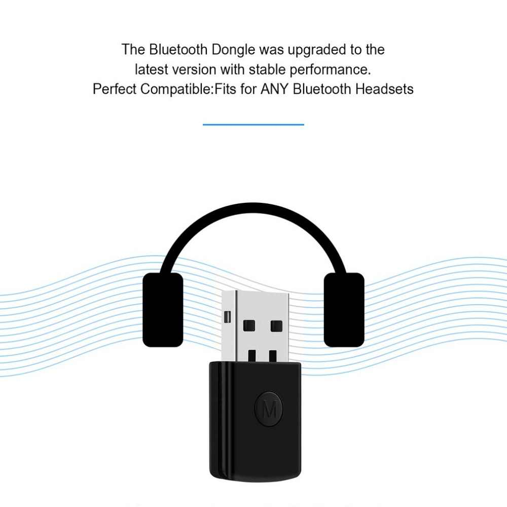 3.5mm Bluetooth 4.0 EDR USB Bluetooth Dongle Draadloze USB Adaptörü Ontvanger Voor PS4 Denetleyicisi Gamepad Bluetooth Kulaklık Sıcak