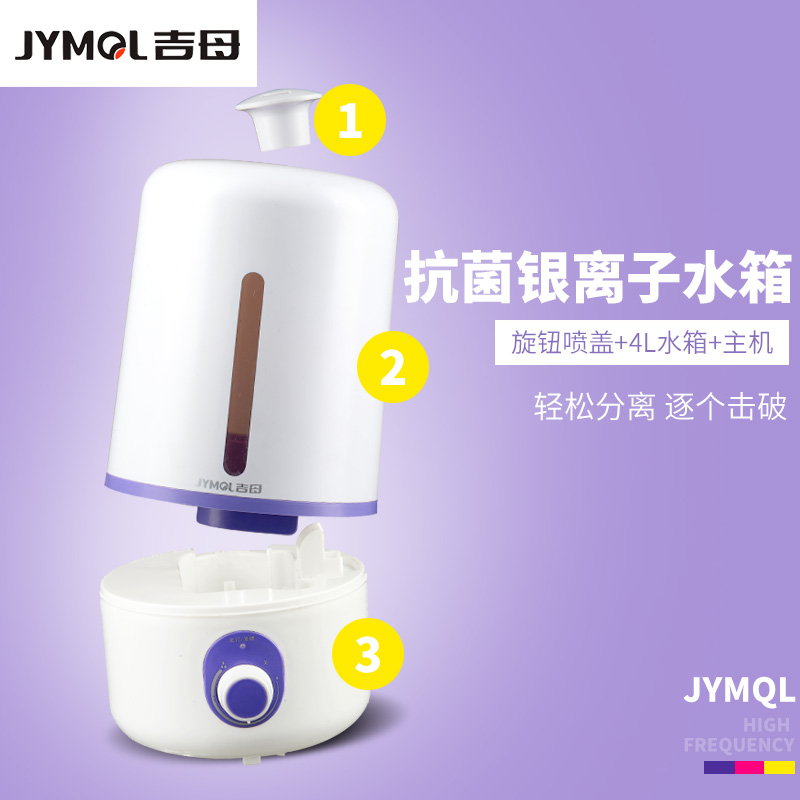 New-340ml White Air Humidifier Essential Diffuser For Home Car Aromatherapy Aroma Diffuser With Lamp Small Air Conditioning Appliances