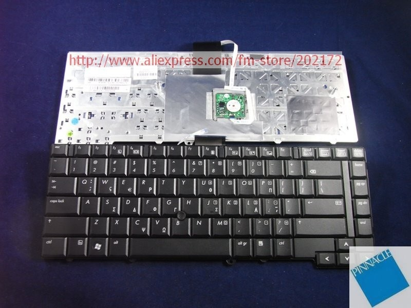 Brand New Black Laptop Notebook Keyboard 483010-DJ1 490170-001 For HP Compaq 6930p series (Greece)100% compatiable us laptop keyboard for sony vpc ya serials black black frame gr german 9z n5usw 20g a1803980a