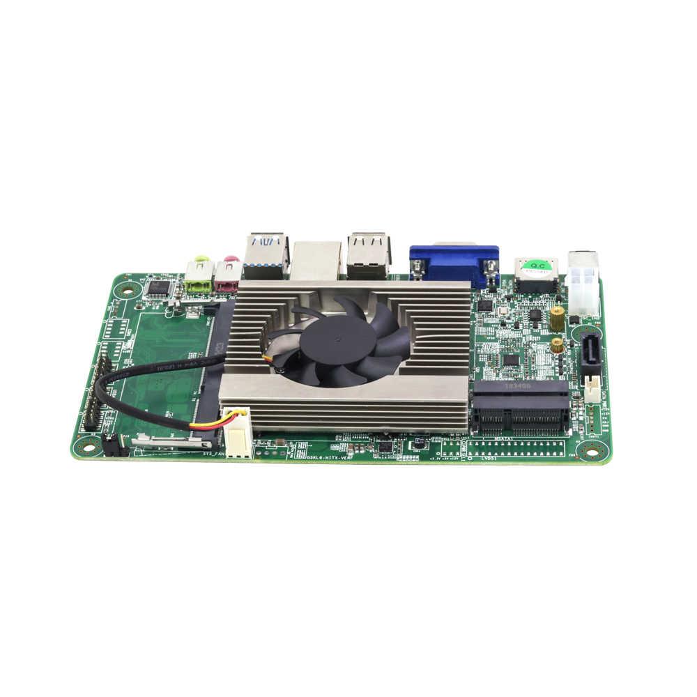 Материнская плата HLY Mini DDR4 i5 7200U Mini ITX материнская плата HDMI VGA USB2.0 USB3.0 mSATA SATA разъем Mini PCI-E Фирменная новая плата