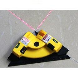 Vertical horizontal nivel laser linha de projeção ângulo direito 90 graus alinhamento layout ferramenta ferramentas medição