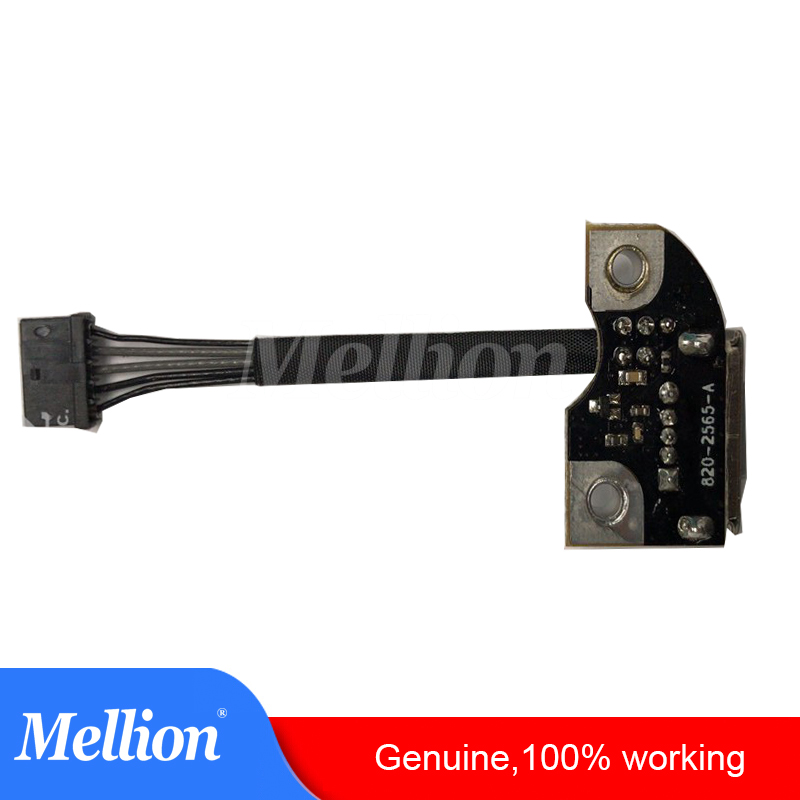 For MacBook Pro A1297 A1286 A1278 DC Power Jack Board 820-2565-A Fit 2009 2010 2011 2012 Year