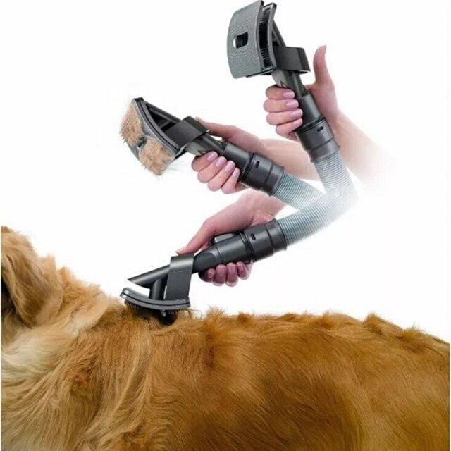 Petshy New Dog Hair Remover Cat Brush Grooming Tools Pet Groom Animal Allergy Vacuum Cleaner Pets Hair Fur Clean Comb Tool