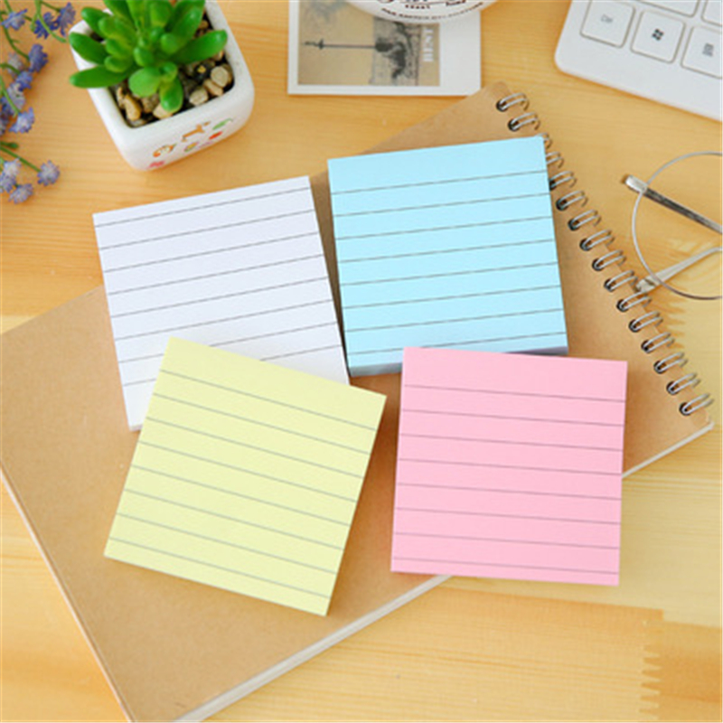 DLK Simple kraft paper, cross line urine, candy, square message, N post Office equipment student supplies