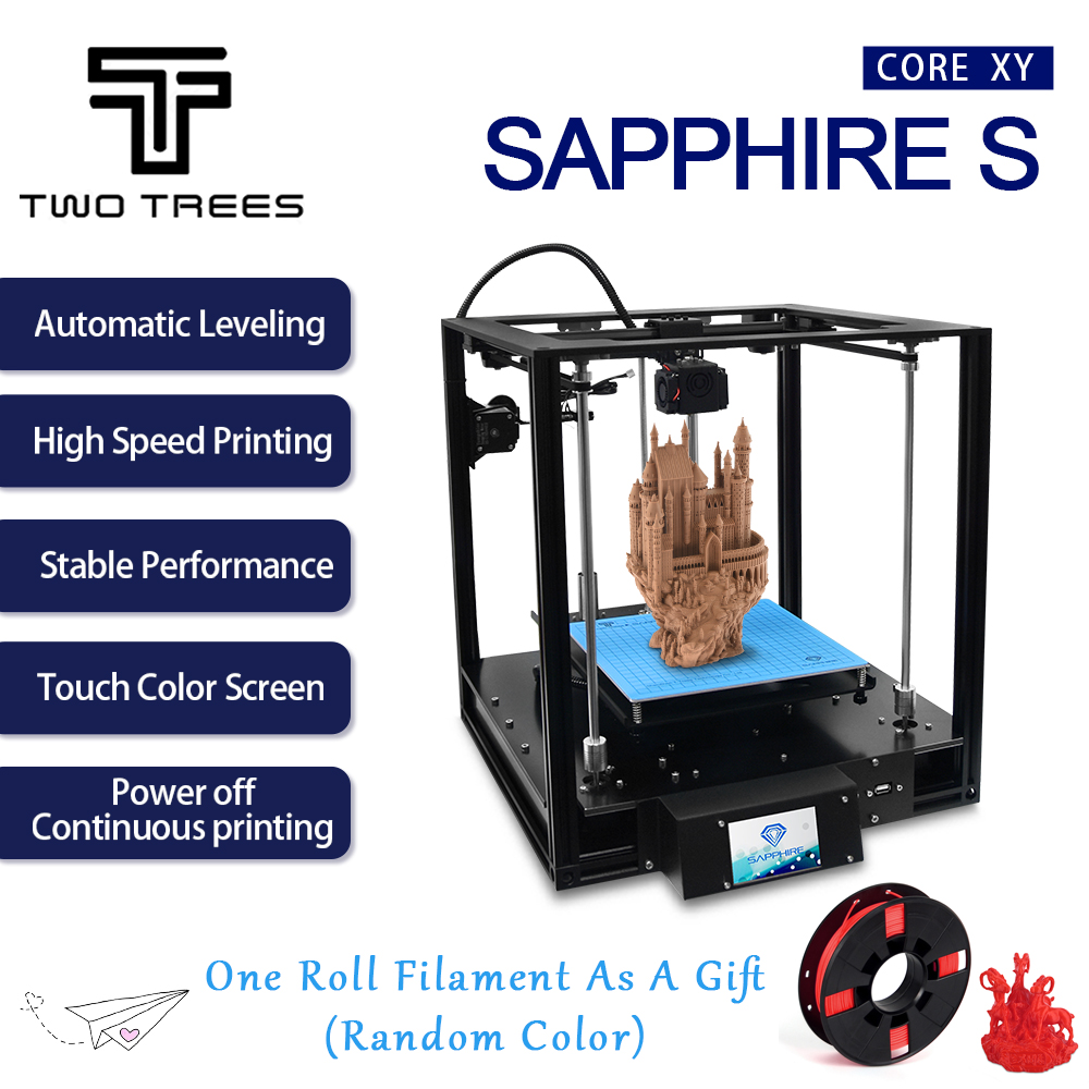 TWO TREES 3D Printer Sapphire S High-precision CoreXY Aluminium Profile Frame