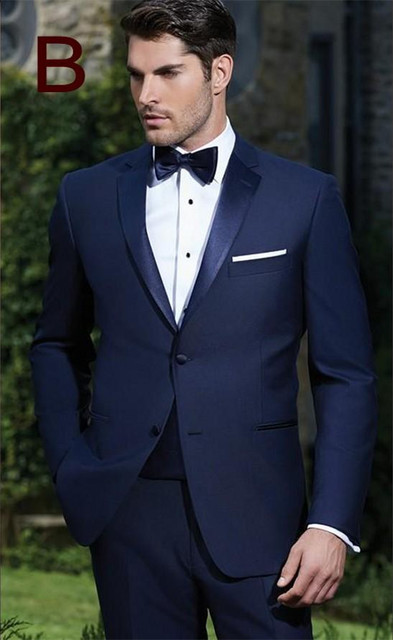 Aliexpress.com : Buy Groom Tuxedos Best man Suit Custom Made ...