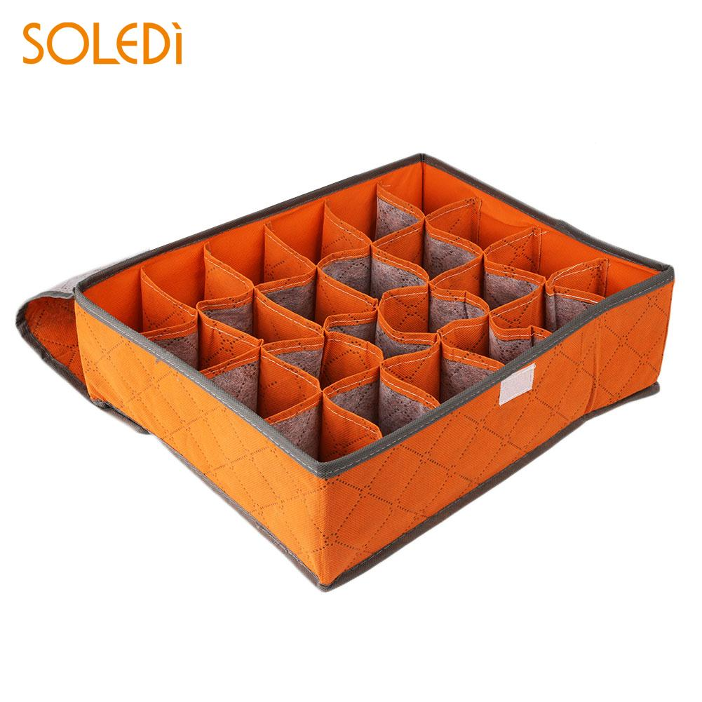Anti-Microbico Nonwoven Underwear Ties Closet Organizers Storage Boxes ...
