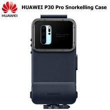 מקורי Huawei P30 פרו שנורקלינג מקרה 10 מטרים 60 דקות מקסימום מתחת למים ירי צלילה עמיד למים כיסוי