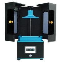 Bilgisayar ve Ofis'ten 3D Yazıcılar'de Ultrabot 3D Yazıcı 2 K LCD Işık Kür Masaüstü UV Reçine 3D Yazıcılar 120*67*180mm inşa Hacmi Destek Off line Baskı