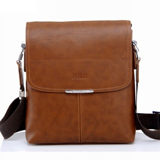2017 men shoulder/messenger bag bussiness bag pu leather men bag factory price Hot Selling M7-166