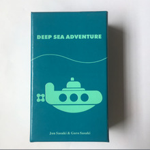 2-6 игроков Семья/вечерние лучший подарок для детей забавная английская игра Deep Sea Adventure настольная игра