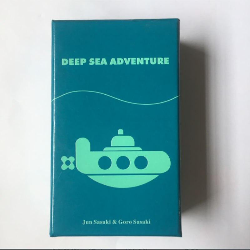 2-6 spieler Familie/Party Beste Geschenk für Kinder Lustige Englisch Spiel Tiefe Meer Abenteuer Bord Spiel