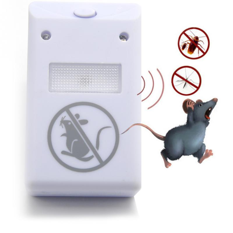 EU/US Plug Ultrasonic Rat Repellent Pest Repelling Aid For Ants Mosquito Mouse