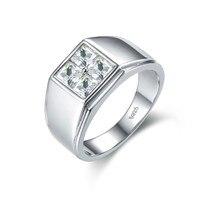 S925 чистое серебряное кольцо квадратном мужское кольцо серебро ручной украсить Father's Day новый шаблон быть перечислены подарок