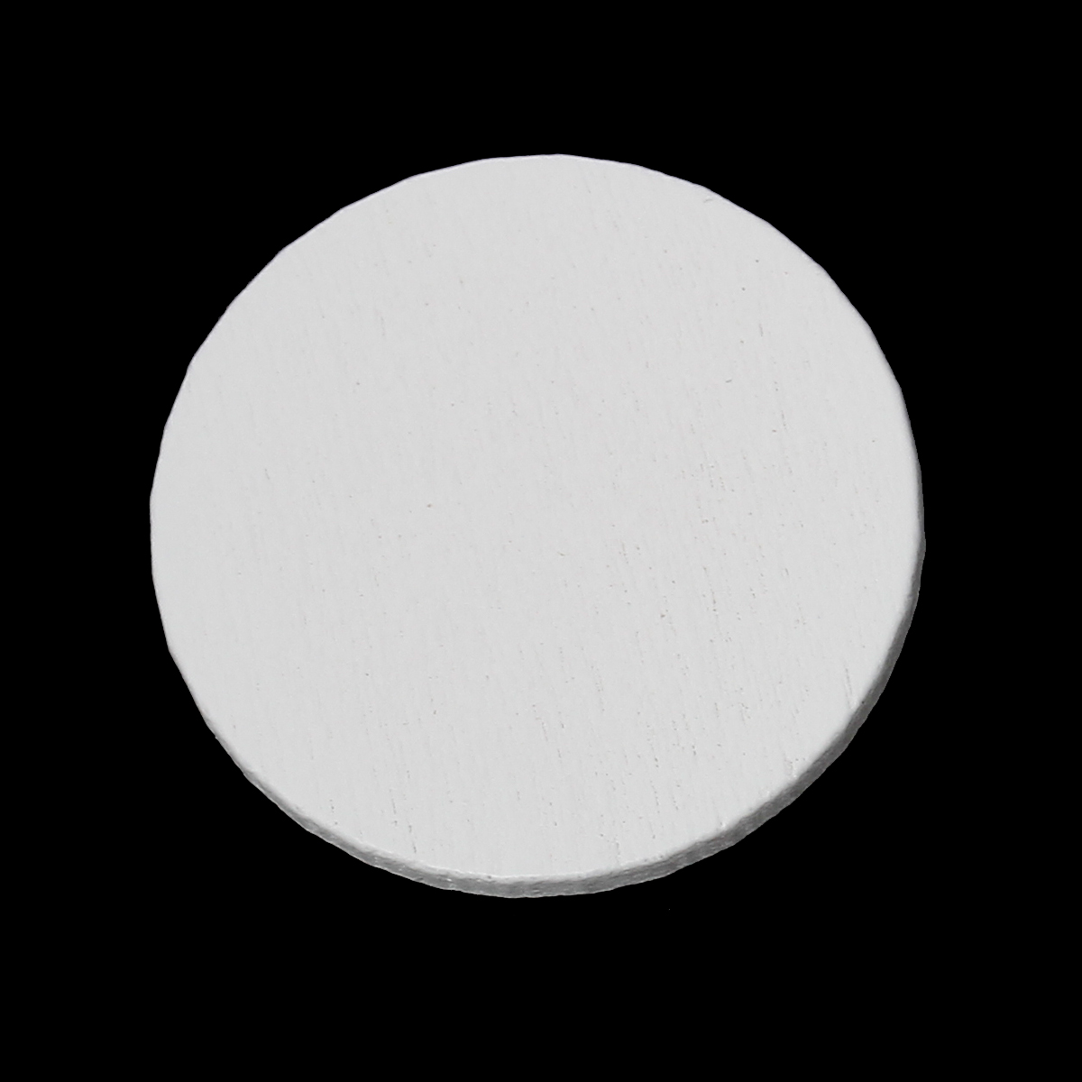 DoreenBeads Wood Cabochons Scrapbooking Embellishments Findings Round White 30mm(1 1/8)Dia,100 PCs 2015 new ...