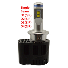 Runstreet(TM) D1 D1S D1R 3000K 4000K 5000K 6000K Canbus P6 LumiLEDs LMZ 10400lm Car LED Bulb Headlight Fog Light Conversion Kit