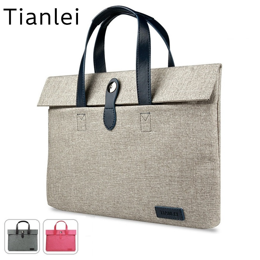 2018 Newest Handbag Brand Tianlei Bag For Laptop 13,14,15,15.6 inch,Sleeve Case For Macbook Air Pro 13.3,15.4,Free Shipping fast free shipping laptop backpacks 13 14 15 15 6 inch free gift keyboard cover for macbook pro 13 3 15 4 black laptop bag case