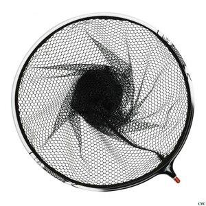 Image 5 - Titanium Legering Visnet Verwijderbare Anti Zelfklevende Haak Vistuig Accessoires Dip Netten Hoofd