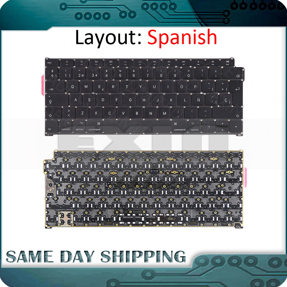 2018 Laptop <font><b>A1932</b></font> Spanish <font><b>Keyboard</b></font> for MacBook Air Retina 13.3