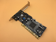 Tarjeta Raid PCI 4 Puertos SATA Raid Tarjetas Chipset para SIlicom Imagen 3114 Soportan RAID 1 5 10 con 2 unids SATA Cable
