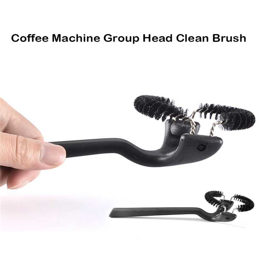 Coffee Machine Group Head Clean Brush Espresso Silicone Creative Coffee Machine Brushes Cafe Grinder Cleaning Tools For Barista