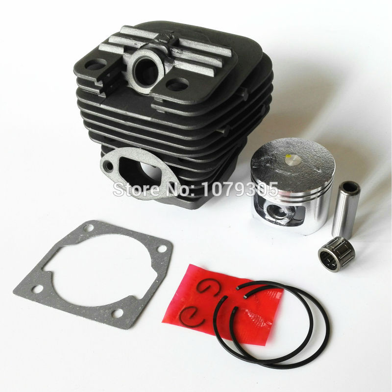 58cc Chainsaw Cylinder And Piston Full Set  5800 Chain Saw Cylinder Kit Cylinder Dia 45.2mm