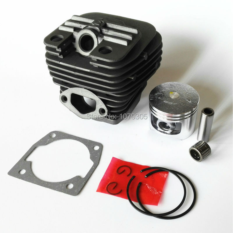58cc Chainsaw cylinder and piston full set 5800 Chain saw cylinder kit cylinder dia 45.2mm g451 43mm piston kit for komatsu zenoah g455 avs chainsaw cylinder assembly kolben assy ring set 45cc chain saw