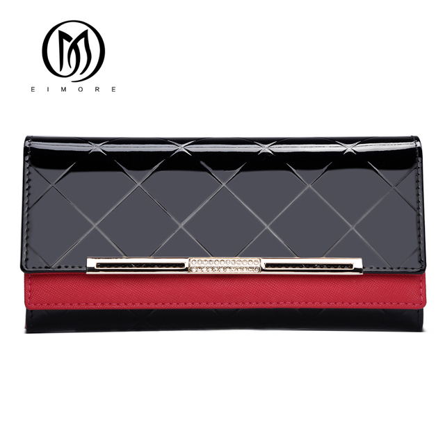 Leather Women Wallet Female Long Clutch Lady Walet Luxury Brand Money Bag For Girls Coin Purse 2