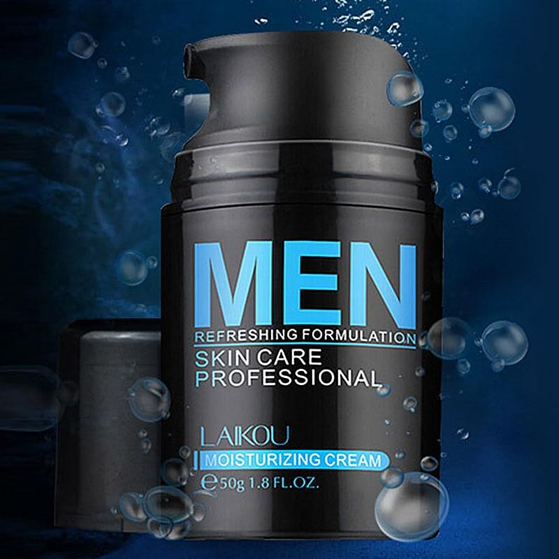 Men's Face Care Natural Lotion Moisturzing Oil Balance Brighten Pores Minimizing 50g Men Facial Skin Care Cream FM88