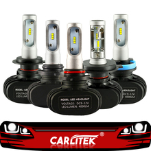 CARLitek N1 12V 24V H7 H4 Led lampen Dioden Automobil 50W 8000LM H8 H9 HB3 HB4 H1 h11 Led Auto Scheinwerfer Nebel Licht 6000K Auto