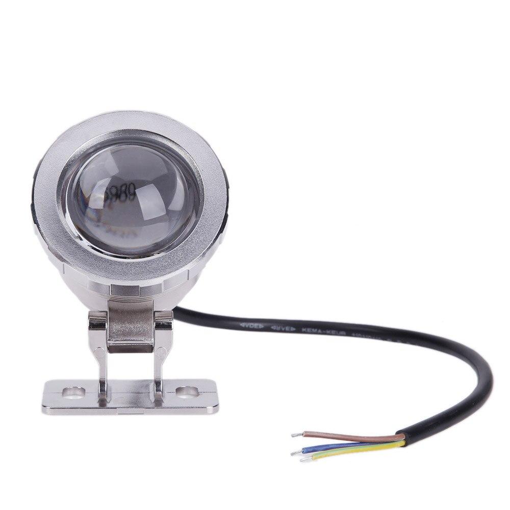 Прочный свет RGB для использования в грунтовых водах 16 Цвета 5 W AC/DC12V удаленного Управление Водонепроницаемый Садовый пруд Tank Фонтан свет светодиодный свет
