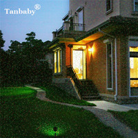 Tanbaby Led Laser Moving Spotlight Light Waterproof Full Sky Starry Projector Shower Landscape Christmas Lights Garden