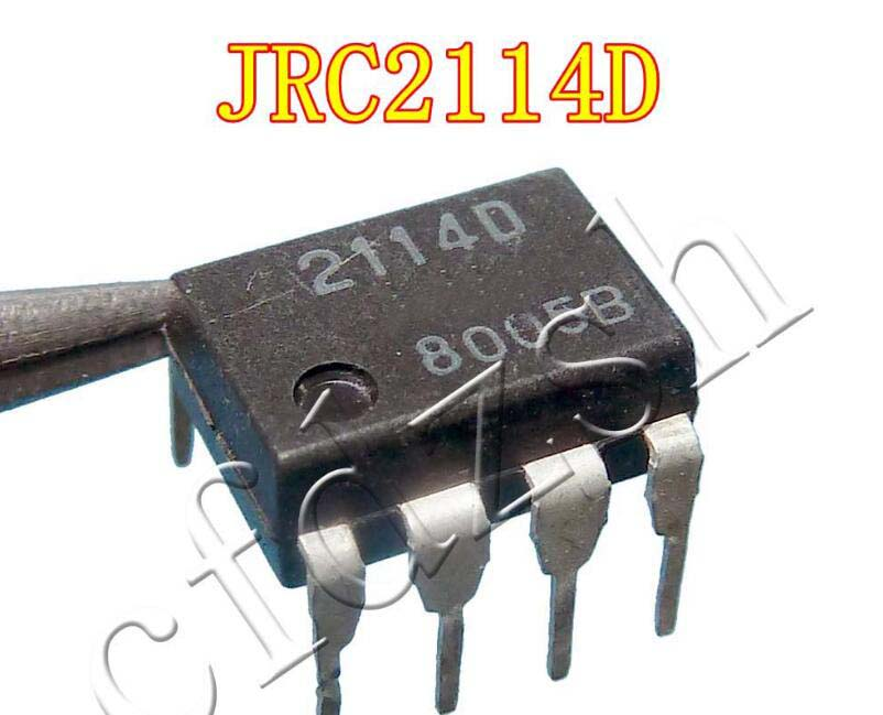 1pcs/lot NJM2114D NJM2114 2114D DIP-8