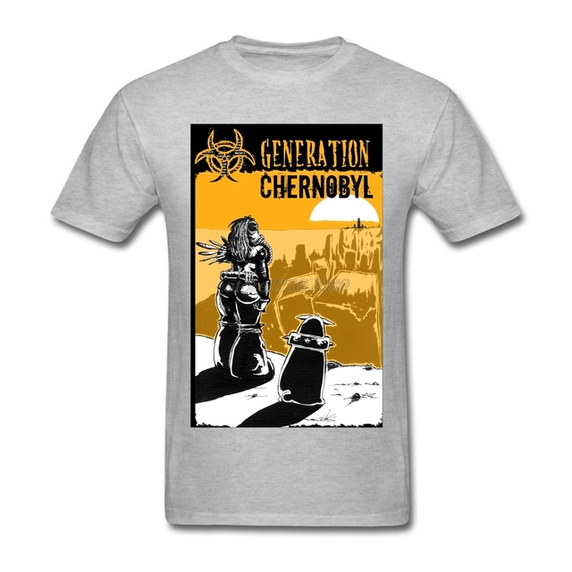 Summer T Shirt Men Generation Chernobyl Personalized T Shirts ...