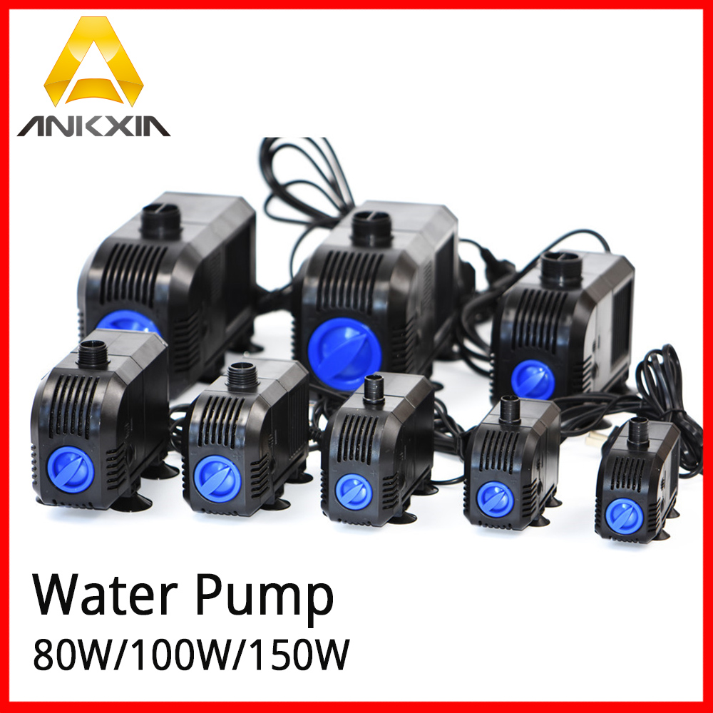 Submersible Water Pump IPX8 80W/100W/150W 220V for CO2 Laser Engraving Cutting Marking Machine 100w 220v shower booster water pump