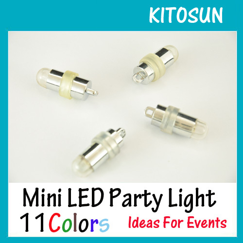 50pcs/lot LED Submersible Lights RGB Multicolor Fairy Balloon Light Wedding Party Decora ...