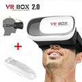2016 Google Cardboard VR BOX II 2.0 1.0 Version Virtual Reality 3D Glasses for iPhone Samsung + Bluetooth Remote Game Control