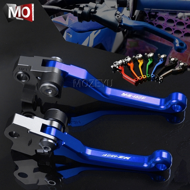 US $19 0 20% OFF|For YAMAHA YZ450F YZ 450F 450 YZ450 F 2001 2007 2008 2009  2019 2018 2017 2016 Motocross CNC Pivot Brake Clutch Levers Dirt Bike-in