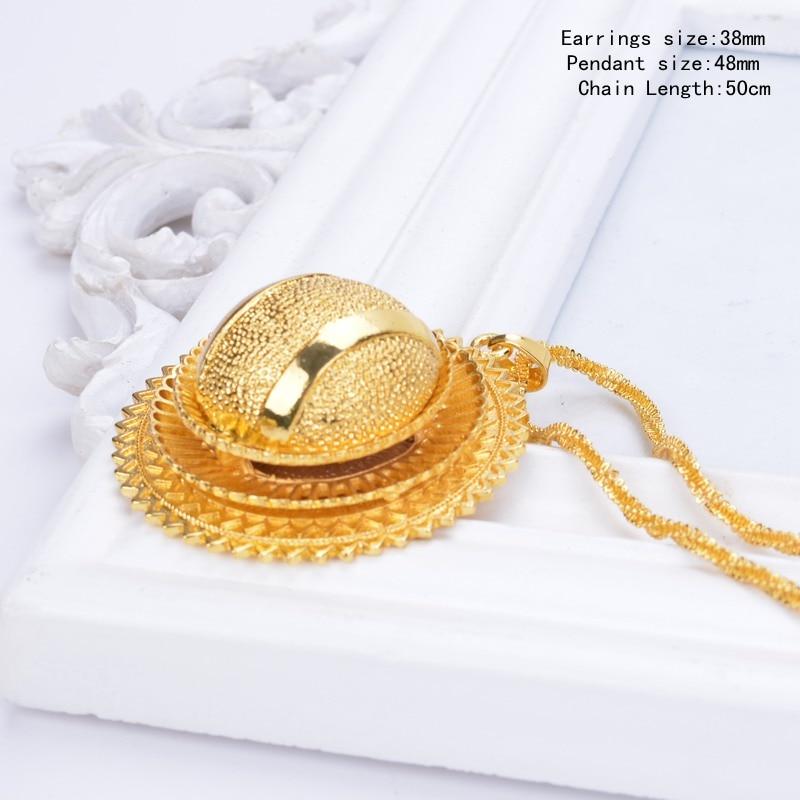 Shamty Αιθιοπίας Νυφικό Καθαρό Χρυσό - Κοσμήματα μόδας - Φωτογραφία 2