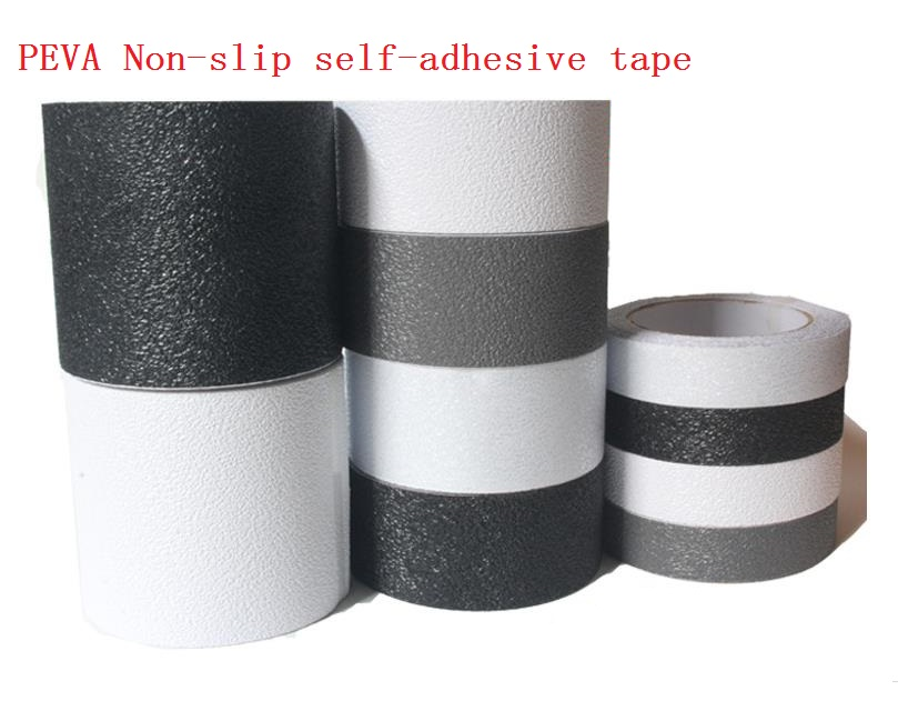 10cm*5M Stairs Floor Bathroom Grind Arenaceous Non-slip PEVA Safety Self-adhesive Rough Tape Antiskid Stick