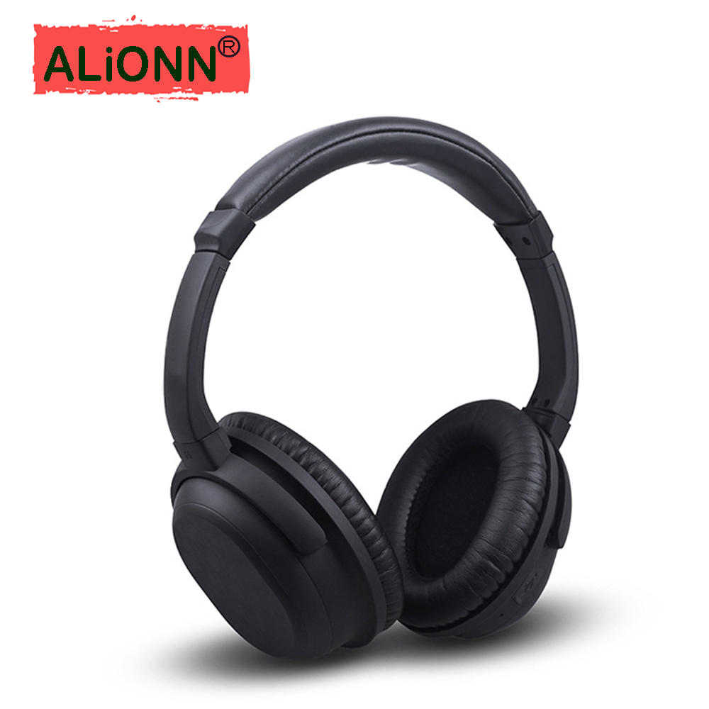 Active Noise Cancelling Wireless Bluetooth Headphones Deep bass Stereo Bluetooth Headset with Microphone for phone you first bluetooth headphones wireless stereo noise cancelling headset handsfree wireless headphones bluetooth with microphone