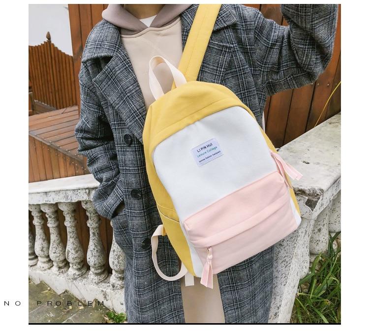 HTB11fmIaET1gK0jSZFrq6ANCXXa3 2019 New Fashion Women Backpack Leisure Shoulder School Bag For Teenage Girl Bagpack Rucksack Knapsack Backpack For Women